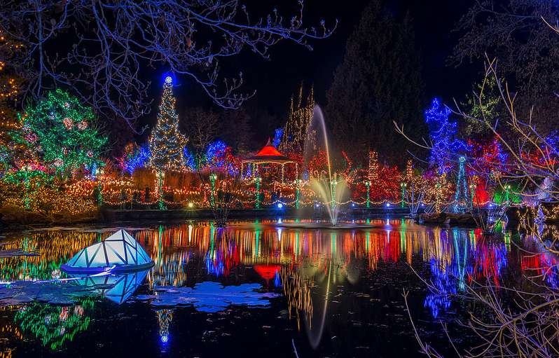Vancouver Christmas Lights.Christmas Lights Vandusen Enjoy Canada