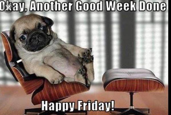 Happy Friday, guys!